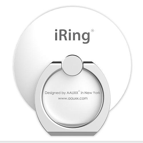 AAUXX iRing スマホリング 落下防止 Circle パールホワイト【6月上旬】_0