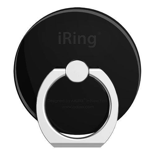 AAUXX iRing スマホリング 落下防止 Circle ジェットブラック_0