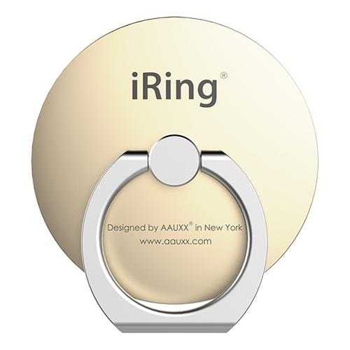 AAUXX iRing スマホリング 落下防止 Circle ゴールド_0