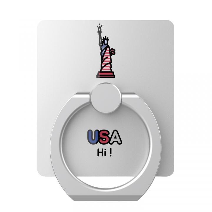 AAUXX iRing スマホリング 落下防止 Landmark USA_0