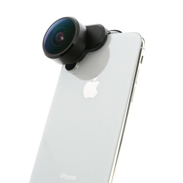 360度撮影レンズ Fusion Lens iPhone XS/X【7月下旬】_0