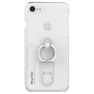 【iPhone8 ケース】AAUXX iRing 落下防止リング付きケース Slide クリア iPhone 8/7/6s/6