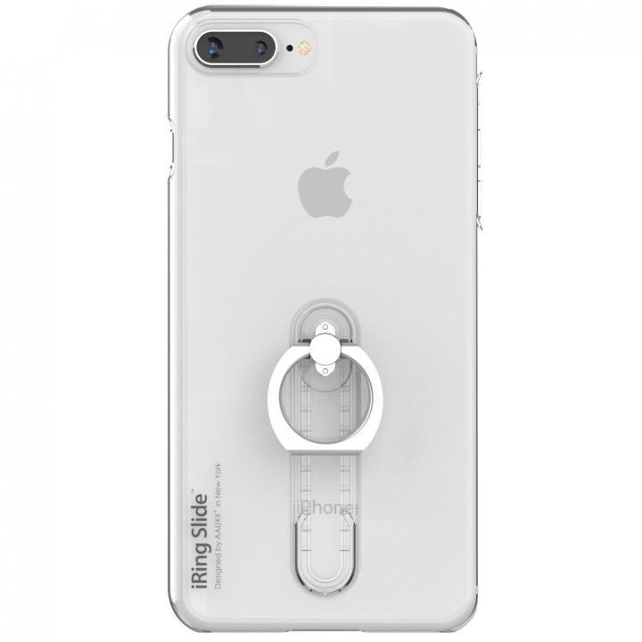 iPhone8 Plus/7 Plus ケース AAUXX iRing 落下防止リング付きケース Slide クリア iPhone 8 Plus/7 Plus_0