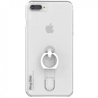 iPhone8 Plus/7 Plus ケース AAUXX iRing 落下防止リング付きケース Slide クリア iPhone 8 Plus/7 Plus