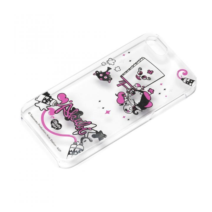 【iPhone SE/5s/5ケース】アクビガール ポリカーボネイトケース おえかきアクビ iPhone SE/5s/5ケース_0