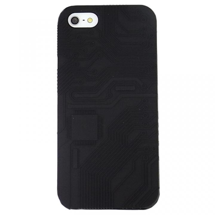 E-CIRCUIT ブラック iPhone SE/5s/5