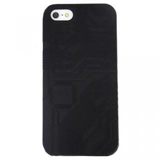 【iPhone SE/5s/5ケース】E-CIRCUIT ブラック iPhone SE/5s/5