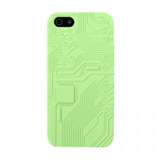 E-CIRCUIT ダークグリーン  iPhone SE/5s/5