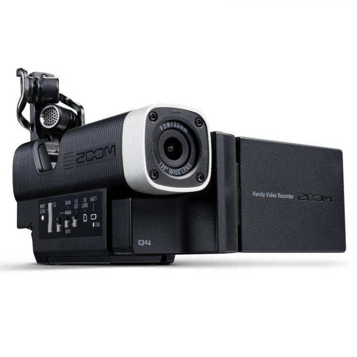 高音質で録画できる ハンディビデオレコーダー Q4