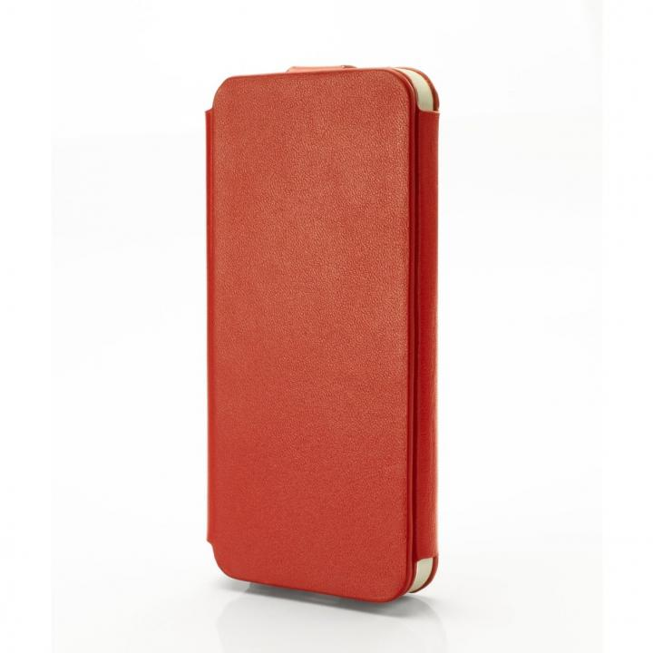 【iPhone 5s/5】UM by GRAMAS Leather 手帳型ケース LC412R レッド