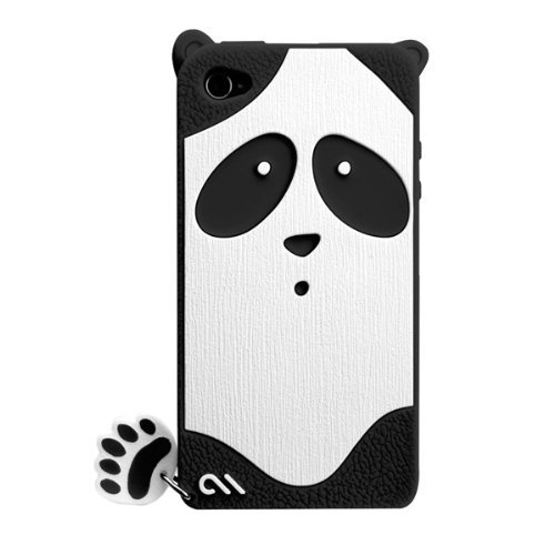 Creatures: Xing Panda Case, Black iPhone4/4s_0