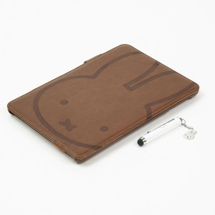 レザーカバー ミッフィー ブラウン  iPad mini/2/3ケース