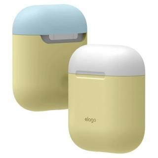 elago AIRPODS DUO CASE for AirPods イエロー_1