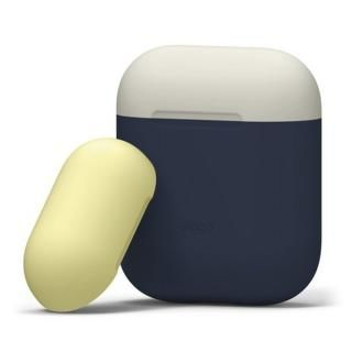 elago AIRPODS DUO CASE for AirPods ジーンズインディゴ