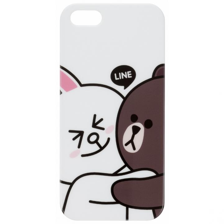 【iPhone SE/5s/5】LINE CHARACTER iPhone5   スマホケース/ハグ!_0