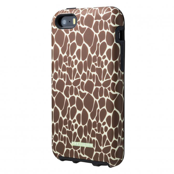 iPhone SE/5s/5 ケース 流行のサファリ柄 Double Protection ケース キリン iPhone SE/5s/5c/5ケース_0