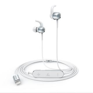 Anker Lightning接続イヤホン SoundBuds Digital IE10 シルバー【1月下旬】