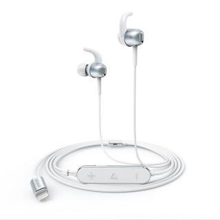 [8月特価]Anker Lightning接続イヤホン SoundBuds Digital IE10 シルバー【8月下旬】