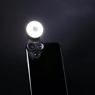 RevolCam スマートフォン用カメラレンズアダプタ ブラック_2