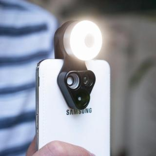 RevolCam スマートフォン用カメラレンズアダプタ ブラック_4