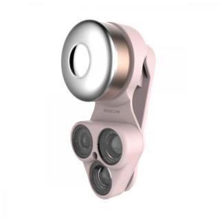RevolCam スマートフォン用カメラレンズアダプタ ピンク