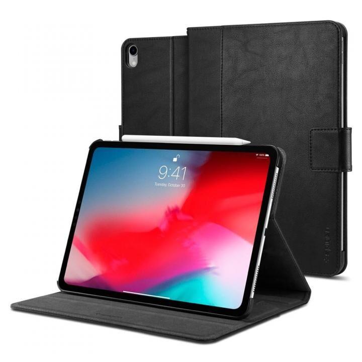 Spigen ケース Stand Folio 2 iPad Pro 11インチ ブラック_0