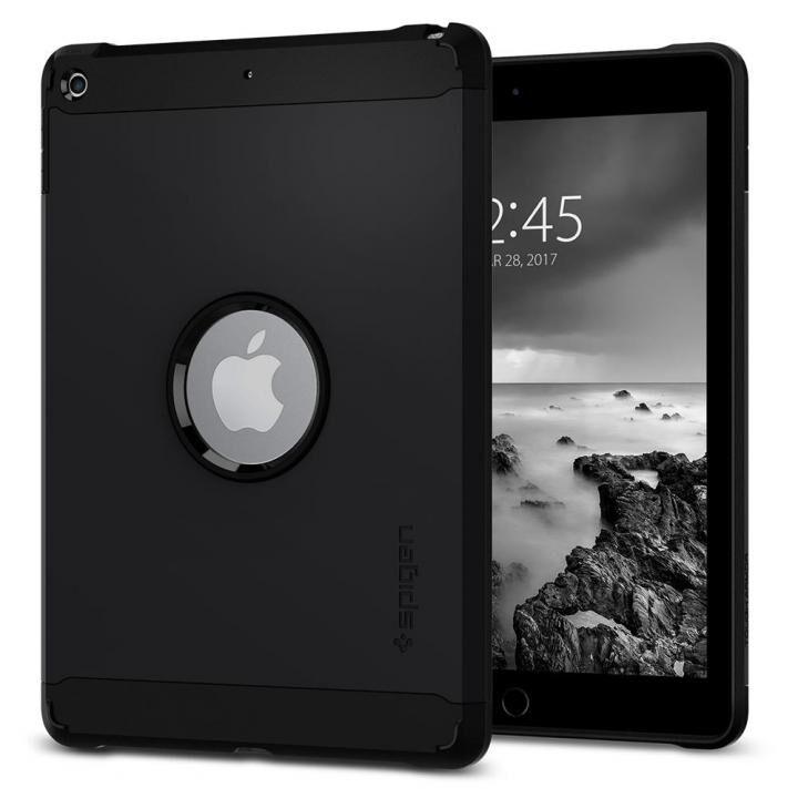 Spigen ケース Tough Armor iPad 9.7インチ ブラック_0