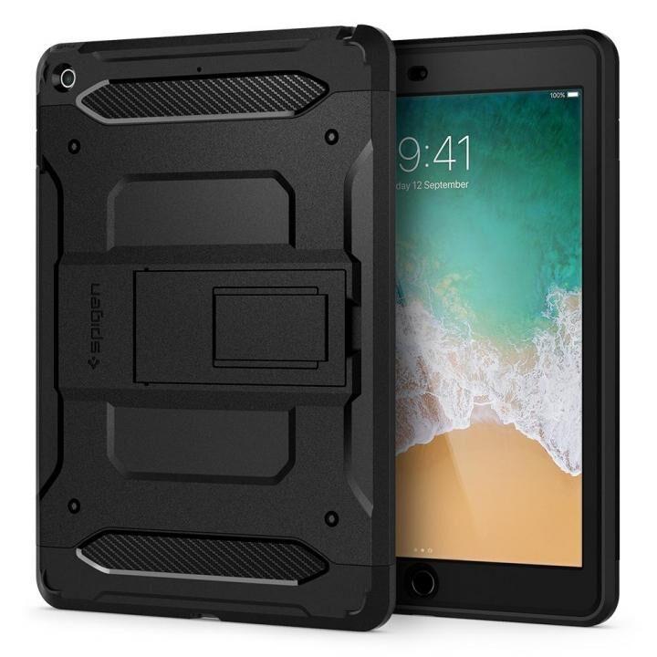 Spigen ケース Tough Armor TECH iPad 9.7インチ ブラック_0