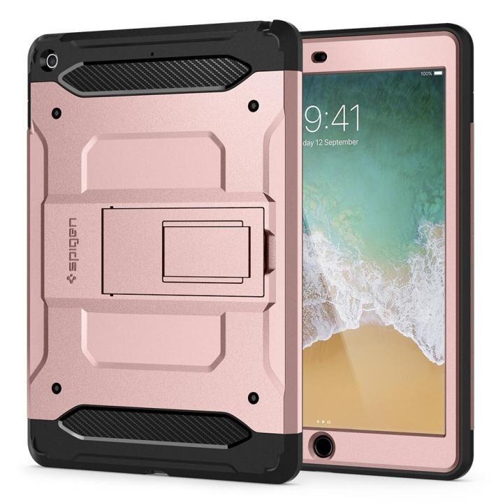 Spigen ケース Tough Armor TECH iPad 9.7インチ ローズゴールド_0