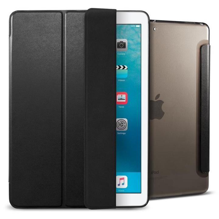 Spigen ケース Smart Fold Case iPad 9.7インチ ブラック_0