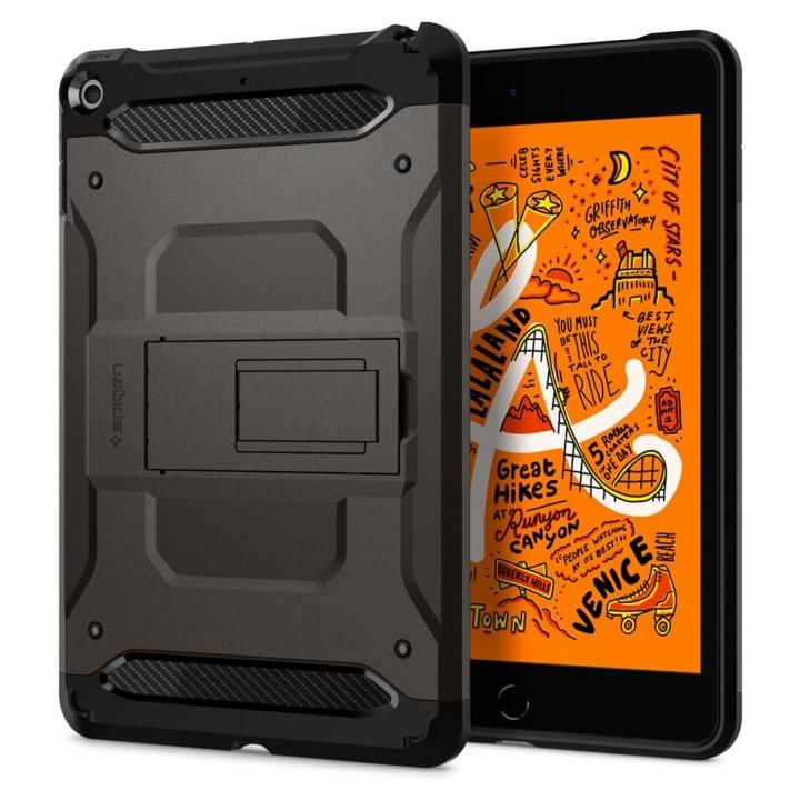 Spigen ケース Tough Armor TECH iPad mini(2019) ガンメタル_0