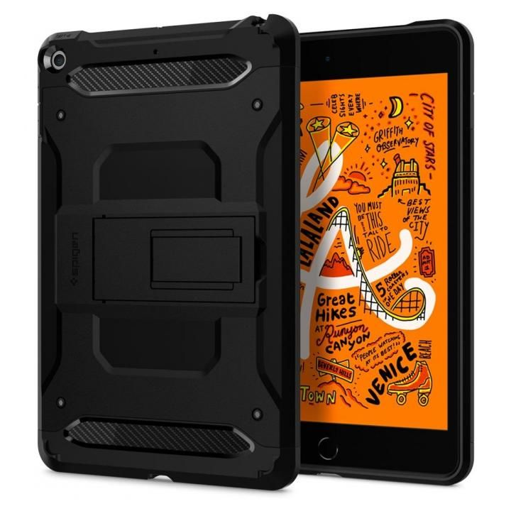Spigen ケース Tough Armor TECH iPad mini(2019) ブラック_0
