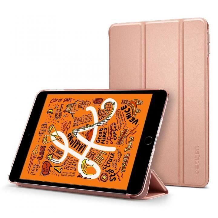 Spigen ケース Smart Fold iPad mini(2019) ローズゴールド_0