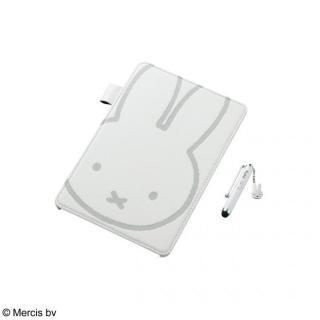 レザーカバー ミッフィー ホワイト  iPad mini/2/3ケース