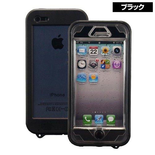 iPhone SE/5s/5 ケース 着脱簡単&スリムな形状、普段使いに最適な生活防水ケース『Easyproof Case  iPhone5』(ブラック)_0