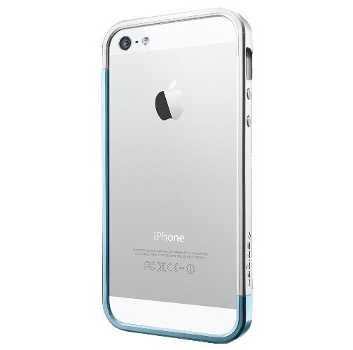 【iPhone SE/5s/5ケース】iPhone5 Linear EX SLEM Metal series Metal Blue_0