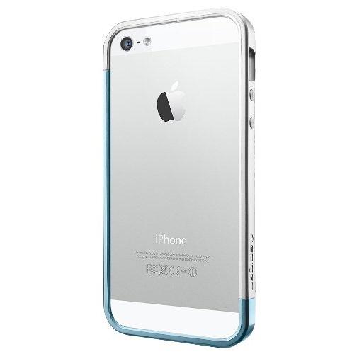 iPhone SE/5s/5 ケース iPhone5 Linear EX SLEM Metal series Metal Blue_0
