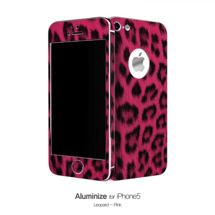 iPhone SE/5s/5 ケース Aluminize ヒョウ柄 Pink (Special Edition)_0