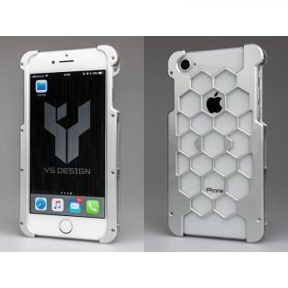 iPhone8 ケース アルミ削り出しプロテクターケース  シルバー iPhone 8