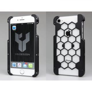 アルミ削り出しプロテクターケース  ブラック iPhone 8
