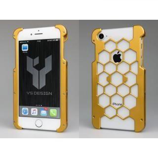 アルミ削り出しプロテクターケース  オレンジ iPhone 8