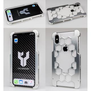 【iPhone Xケース】アルミ削り出しプロテクターケース  シルバー iPhone X