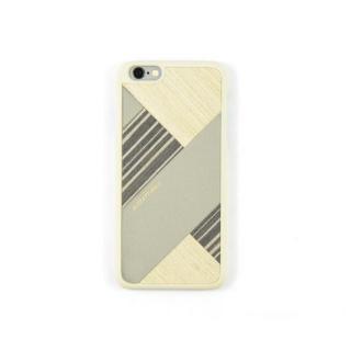 COLLART ウッドレザーケース グレイ iPhone 6s/6