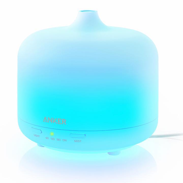 Anker 250ml エッセンシャルオイルディフューザー 超音波加湿器