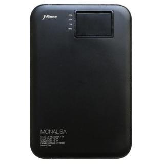 超薄型スタイリッシュモバイルバッテリー「MONALISA」[3400mAh]ブラック
