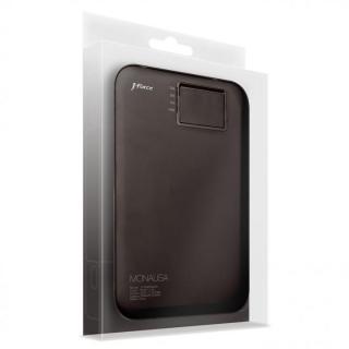 超薄型スタイリッシュモバイルバッテリー「MONALISA」[3400mAh]ブラック_1