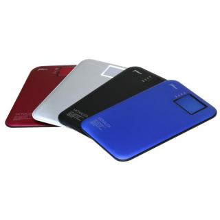 超薄型スタイリッシュモバイルバッテリー「MONALISA」[3400mAh]ブラック_2