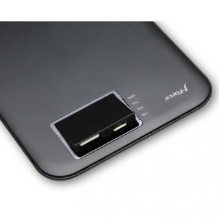超薄型スタイリッシュモバイルバッテリー「MONALISA」[3400mAh]ブラック_4