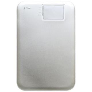 超薄型スタイリッシュモバイルバッテリー「MONALISA」[3400mAh]シルバー