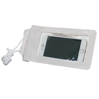 スタンド付き完全防水ケース Jelly Fish S Plus ホワイト 多機種対応(iPhone/Android)